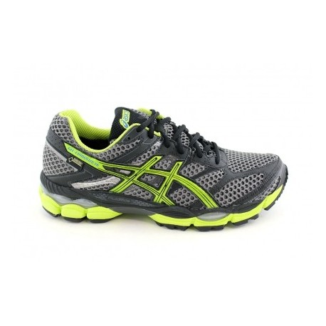 RUNNING SHOES ASICS GEL CUMULUS 16 GTX GREY AND YELLOW FOR MEN'S