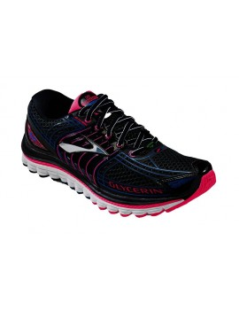 RUNNING SHOES BROOKS GLYCERIN 12 BLACK AND PINK FOR WOMEN'S