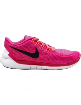 CHAUSSURES DE RUNNING NIKE FREE 5.0 ROSE POUR FEMMES