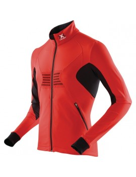 X-BIONIC OUTDOOR RACOON JACKET BLK/RED M