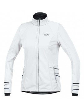 GORE RUNNING WEAR ESSENTIAL AS JACKET WHITE FOR WOMEN'S