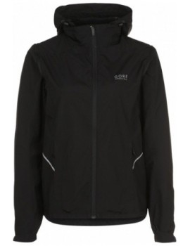 VESTE GORE RUNNING WEAR ESSENTIAL 2.0 AS ZIP OFF NOIR POUR FEMMES