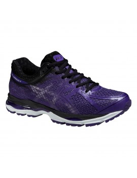 RUNNING SHOES ASICS GEL CUMULUS 17 LITE-SHOW PURPLE AND BLACK FOR WOMEN'S