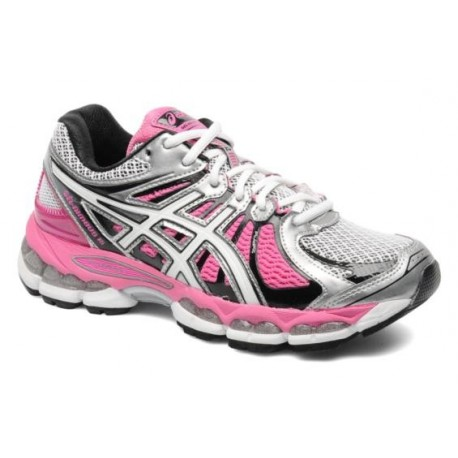 meilleur service 04920 199f2 RUNNING SHOES ASICS GEL NIMBUS 15 GREY AND PINK FOR WOMEN'S - Running  Discount