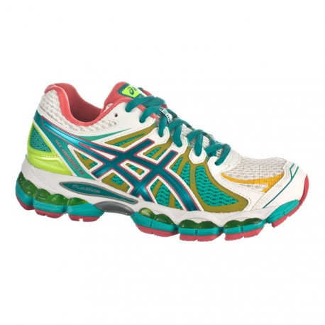 en soldes c55a5 c3d79 RUNNING SHOES ASICS GEL NIMBUS 15 LITE-SHOW WHITE AND GREEN FOR WOMEN'S -  Running Discount