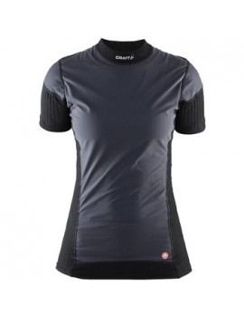 CRAFT BE ACTIVE EXTREME WINDSTOPPER SHORT SLEEVE SHIRT FOR WOMEN'S