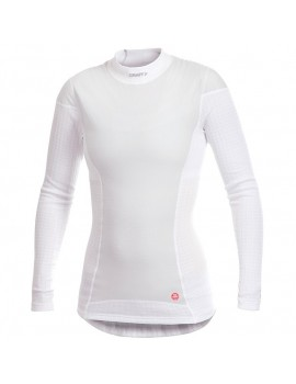 CRAFT ACTIVE EXTREME WINDSTOPPER LONG SLEEVE WHITE FOR WOMEN'S