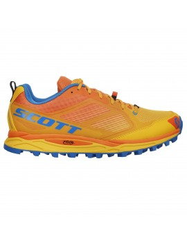 TRAIL RUNNING SHOES SCOTT KINABALU SUPERTRAC YELLOW FOR MEN'S