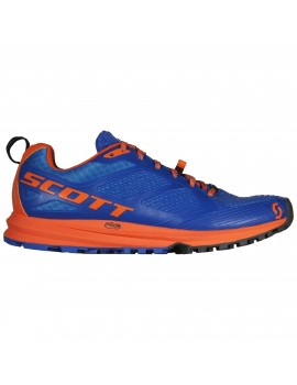 TRAIL RUNNING SHOES SCOTT KINABALU ENDURO BLUE AND ORANGE FOR MEN'S