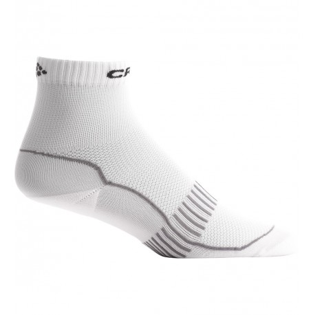 CRAFT BASIC 2 PACK HIGH CUT SOCKS WHITE UNISEX
