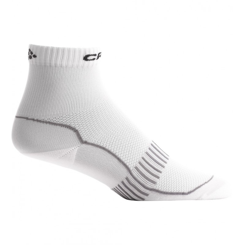 sp cialiste du running trail fitness chaussettes craft basic pack de 2 taille haute blanche. Black Bedroom Furniture Sets. Home Design Ideas