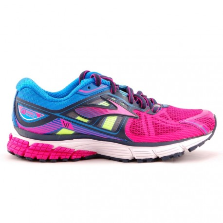 sneakers for cheap de1e1 6fe71 RUNNING SHOES BROOKS RAVENNA 6 PINK AND BLUE FOR WOMEN'S - Running Discount