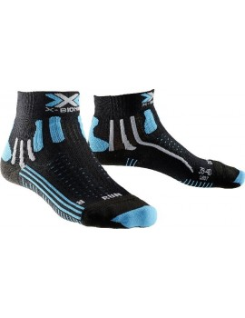X-SOCKS EFFEKTOR RUNNNING SHORT BLACK AND BLUE W