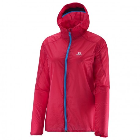 prix compétitif 9c5ae e173f SALOMON FAST WING HOODIE JACKET PINK FOR WOMEN'S - Running Discount