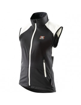 X-BIONIC CROSS COUNTRY SPHERE WIND LIGHT VEST POUR FEMMES