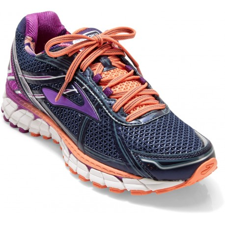 0761eb5899f69 RUNNING SHOES BROOKS ADRENALINE GTS 15 PURPLE AND ORANGE FOR WOMEN S