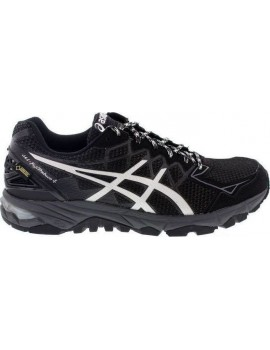 TRAIL RUNNING SHOES ASICS GEL FUJITRABUCO 4 GTX BLACK FOR WOMEN'S