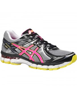 RUNNING SHOES ASICS GT-2000 2 GTX GREY AND PINK FOR WOMEN'S