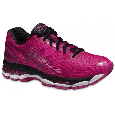 RUNNING SHOES ASICS GEL NIMBUS 17 LITE SHOW PINK AND BLACK FOR WOMEN'S Running Discount