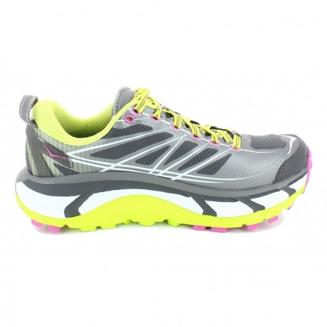 pretty nice 45f2d d8c53 TRAIL RUNNING SHOES HOKA ONE ONE MAFATE SPEED 2 GREY AND YELLOW FOR WOMEN'S  - Running Discount