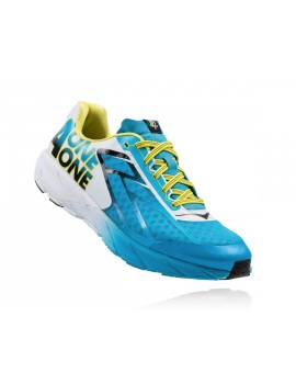 HOKA ONE ONE TRACER RUNNIGN SHOES BLUE AND WHITE FOR MEN'S