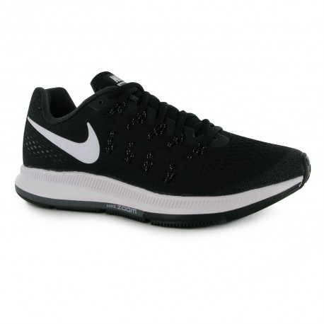 newest 8a062 c638e RUNNING SHOES NIKE AIR ZOOM PEGASUS 33 BLACK AND WHITE FOR WOMEN S