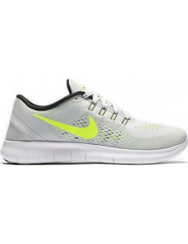 RUNNING SHOES NIKE FREE RN GREY AND YELLOW FOR WOMEN'S