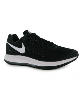 RUNNING SHOES NIKE AIR ZOOM PEGASUS 33 BLACK AND WHITE FOR MEN'S