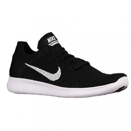 énorme réduction 27caa d1829 CHAUSSURES DE RUNNING NIKE FREE RN FLYKNIT NOIR ET BLANCHE POUR HOMMES -  Running Discount