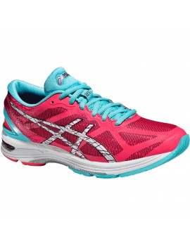RUNNING SHOES ASICS GEL DS TRAINER 21 PINK AND BLUE FOR WOMEN'S