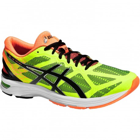 RUNNING SHOES ASICS GEL DS TRAINER 21 YELLOW, BLACK AND ORANGE FOR MEN'S