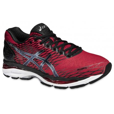 RUNNING SHOES ASICS GEL NIMBUS 18 RED AND BLACK FOR MEN S 5919be50c5fd