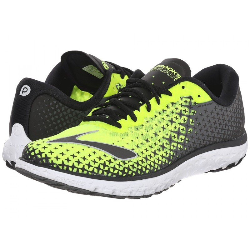 4ae8c081be1a9 ... RUNNING SHOES BROOKS PURE FLOW 5 YELLOW AND BLACK FOR MEN S ...