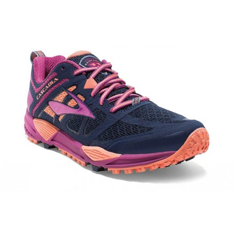 free shipping 5a50d 709b8 TRAIL RUNNING SHOES BROOKS CASCADIA 11 BLUE AND PURPLE FOR WOMEN'S -  Running Discount