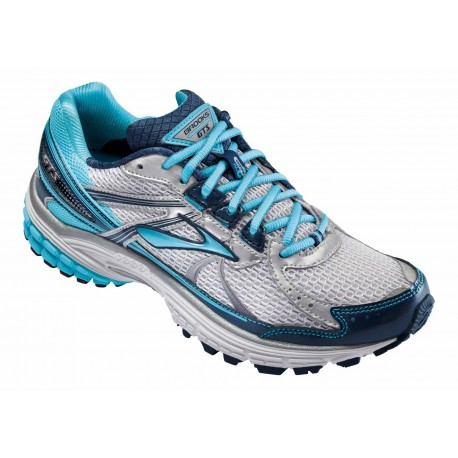 7cf924ad6cb RUNNING SHOES BROOKS ADRENALINE GTS 13 WHITE AND BLUE FOR WOMEN S