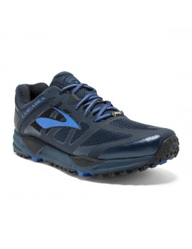 TRAIL RUNNING SHOES BROOKS CASCADIA 11 GTX BLUE FOR MEN'S