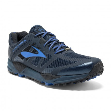 a6ee709ddc4 TRAIL RUNNING SHOES BROOKS CASCADIA 11 GTX BLUE FOR MEN S