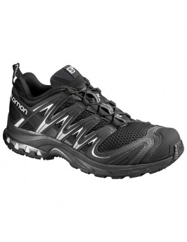 TRAIL RUNNING SHOES SALOMON XA PRO 3D BLACK FOR WOMEN'S