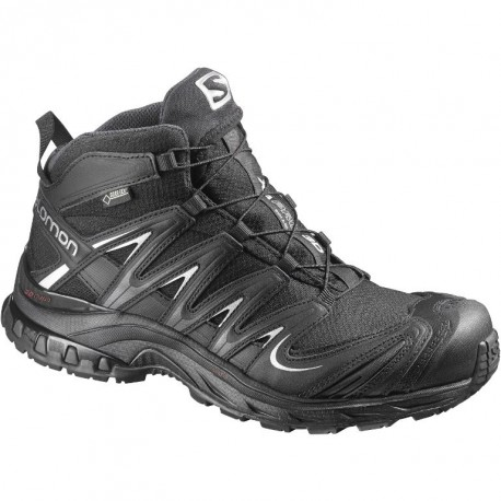 HIKING SHOES SALOMON XA PRO 3D MID GTX BLACK FOR WOMEN'S