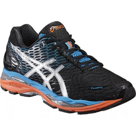 dcf9a7d8a9e7 RUNNING SHOES ASICS GEL NIMBUS 18 BLACK