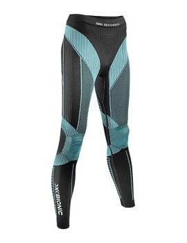 RUNNING TIGHT X-BIONIC EFFEKTOR BLACK AND BLUE FOR WOMEN'S