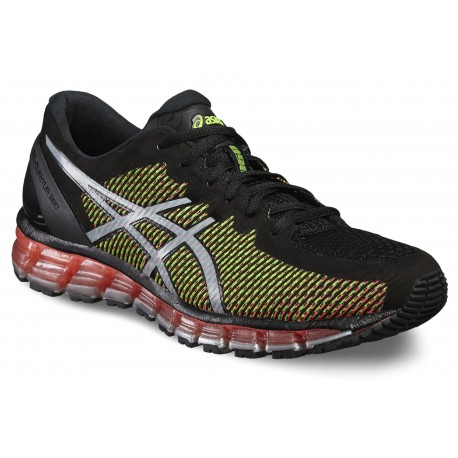 new concept 0186e e0c27 RUNNING SHOES ASICS GEL QUANTUM 360 CM BLACK AND YELLOW FOR MEN S