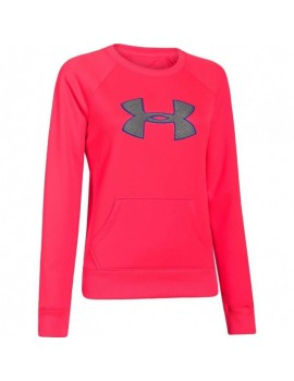 UNDER ARMOUR BIG LOGO LETTERMAN CREW W