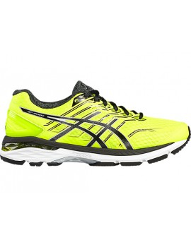 RUNNING SHOES ASICS GT 2000 V5 YELLOW AND BLACK FOR MEN'S
