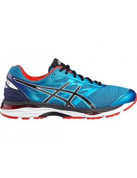 RUNNING SHOES ASICS GEL CUMULUS 18 BLUE FOR MEN'S