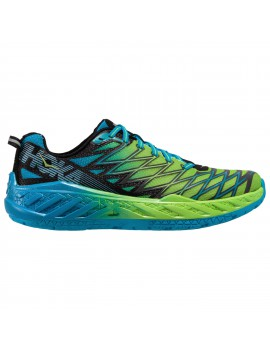 RUNNING SHOES HOKA ONE ONE CLAYTON 2 BLUE AND GREEN FOR MEN'S