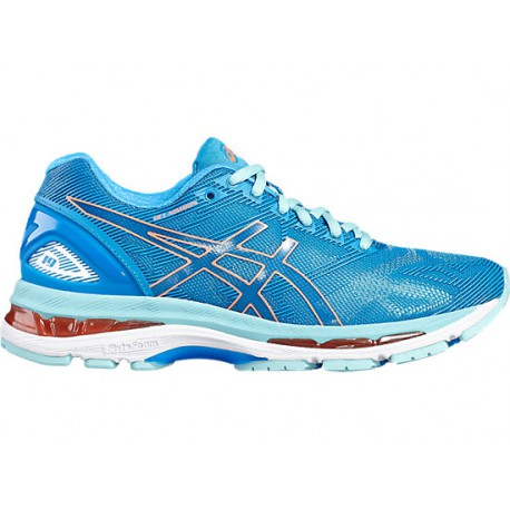 huge selection of 2d64f 29e17 RUNNING SHOES ASICS GEL NIMBUS 19 BLUE FOR WOMEN'S - Running Discount