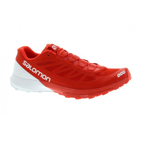 low priced 07f0c c0a42 TRAIL RUNNING SHOES SALOMON S-LAB SENSE 6 RED AND WHITE FOR MEN S