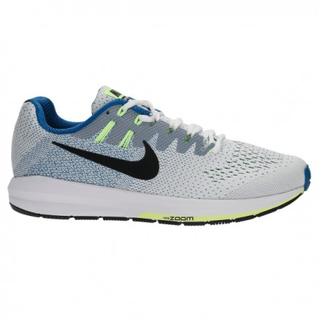 check out 99102 3e58f RUNNING SHOES NIKE AIR ZOOM STRUCTURE 20 WHITE, BLUE AND BLACK FOR MEN S