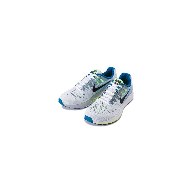 promo code b8210 c2843 ... RUNNING SHOES NIKE AIR ZOOM STRUCTURE 20 WHITE, BLUE AND BLACK FOR MEN S